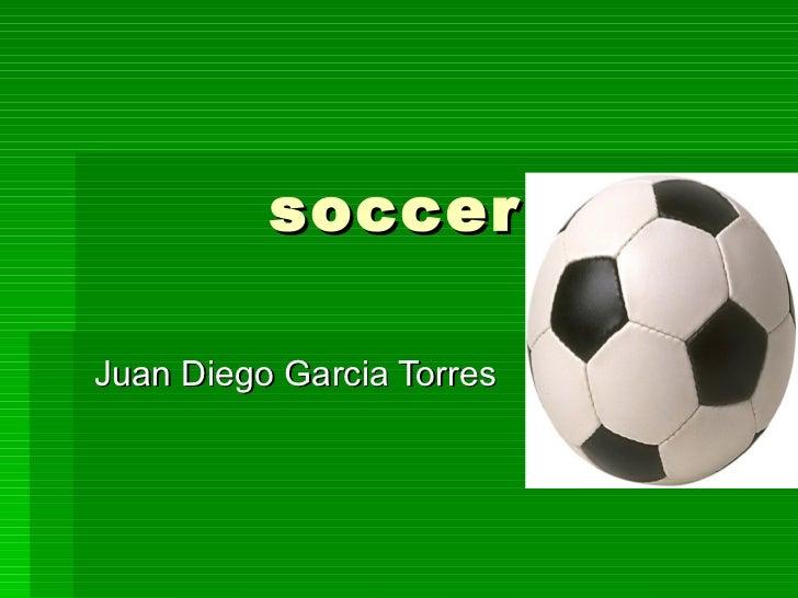 soccer Juan Diego Garcia Torres