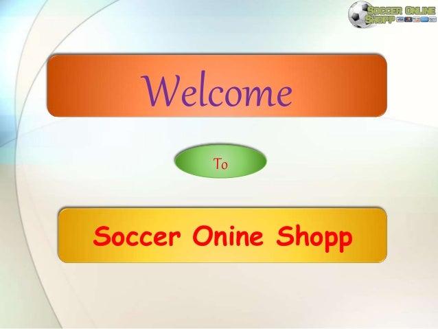 Soccer Onine Shopp Welcome To
