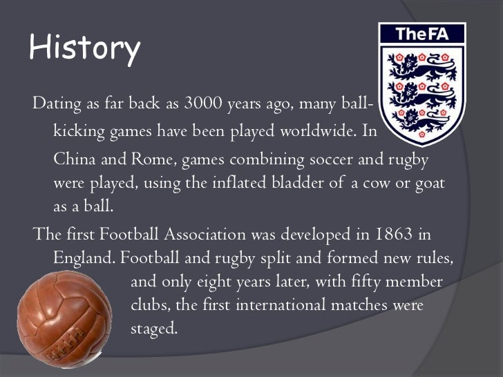history of football pdf download