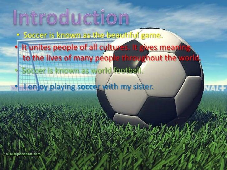 Soccer Presentation 1 Slide 2