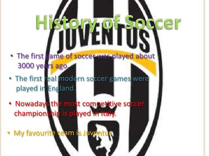 Soccer Presentation 1 Slide 3