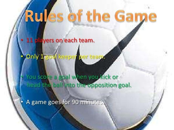 soccer presentation 1