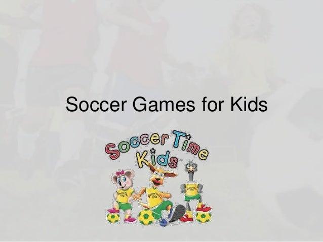 Soccer Games for Kids