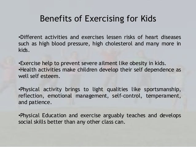 how to explain fitness to a child