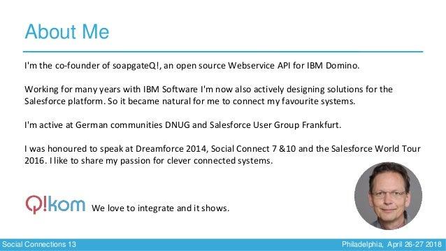 Soccnx13   Integrate Salesforce and IBM Connections Slide 3