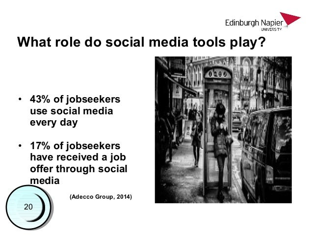 The role of networking and social media tools during job search: an information behaviour perspective Slide 3