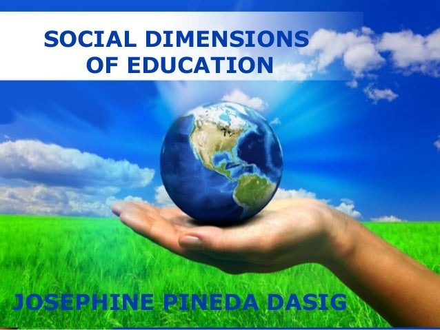 social dimensions Read chapter 8 the social dimensions of immigration: this book sheds light on one of the most controversial issues of the decade it identifies the econom.