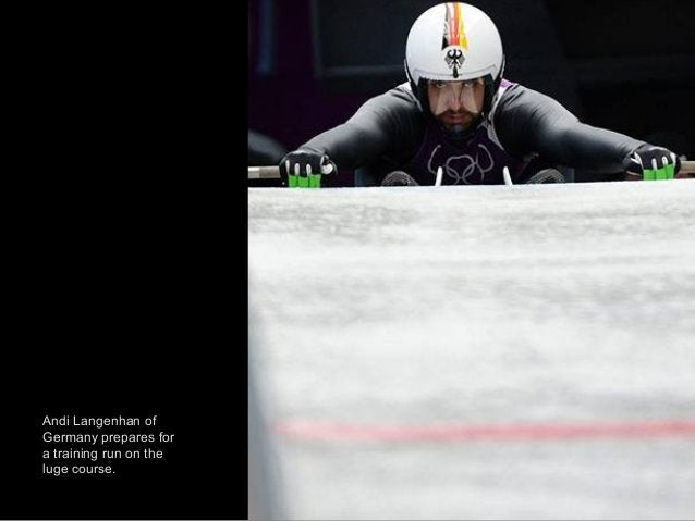 Australia's two-men bobsleigh pilot Heath Spence speeds down the track during unoffical progressive training at the Sanki ...