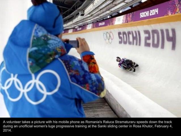 Canada's John Fairbairn speeds down during an unofficial men's skeleton progressive training at the Sanki sliding center i...