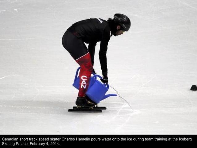 Germany's Tatjana Huefner checks the track before an unofficial women's luge progressive training at the Sanki sliding cen...