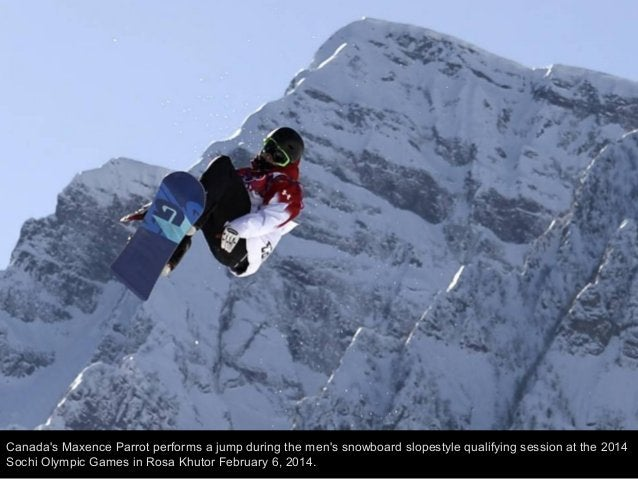 Sven Thorgren of Sweden competes in the Men's Slopestyle Qualification during the Sochi 2014 Winter Olympics at Rosa Khuto...