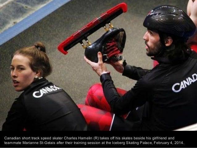 U.S. goalie Jessie Vetter looks on during their women's ice hockey practice ahead of the 2014 Sochi Winter Olympics Februa...