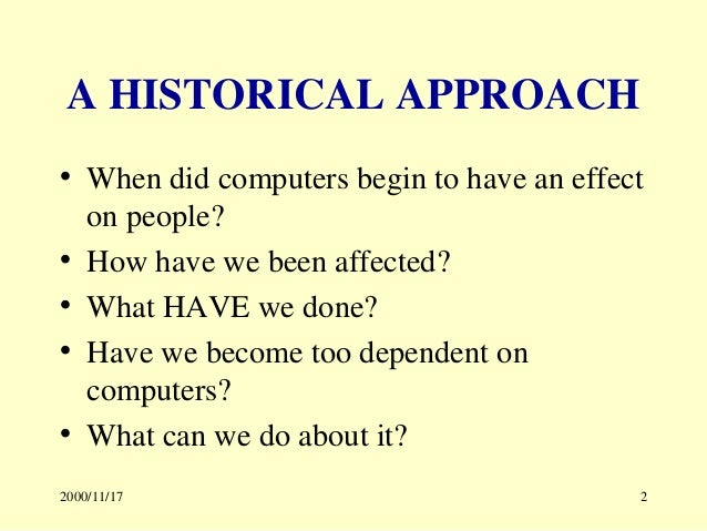 """have we too dependent on computers We have reached a time when information is taken as fact simply because we hadn't seen anything to the 3 responses to """"teens are too dependent on technology."""