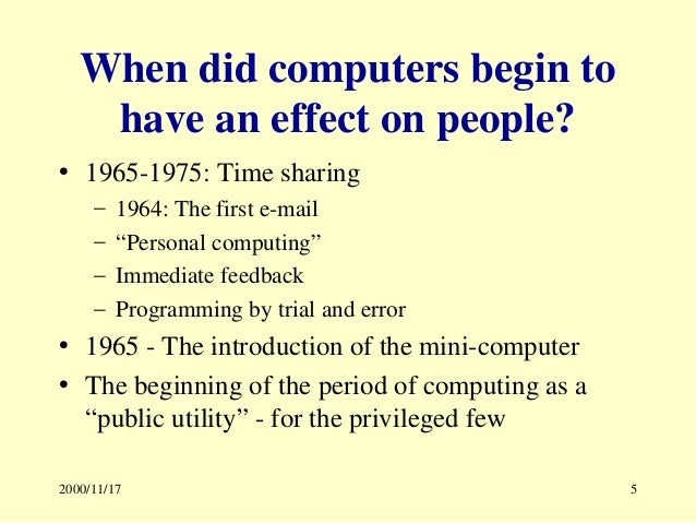 impact of computer on society pdf