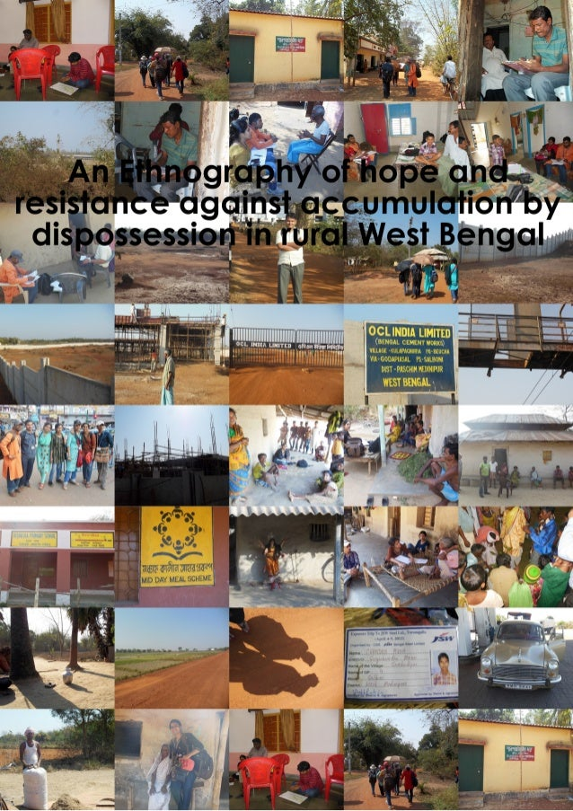 An ethnography of hope and resistance against accumulation by dispossession in rural West Bengal  ROLL NO- 91/ANT/121023 R...