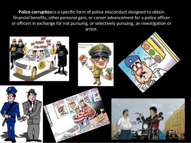 police corruption and misconduct essay Police Corruption Essay