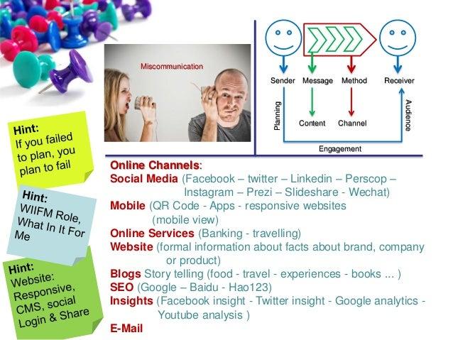 Social Media and Online Tools  Slide 2