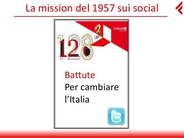 La mission del 1957 sui social