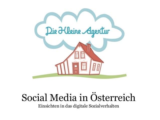 Social Media in Österreich Einsichten in das digitale Sozialverhalten