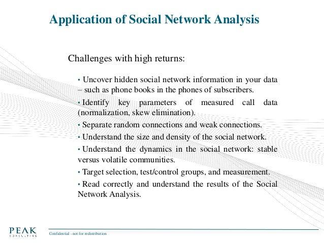 Social network analysis & Big Data - Telecommunications and more