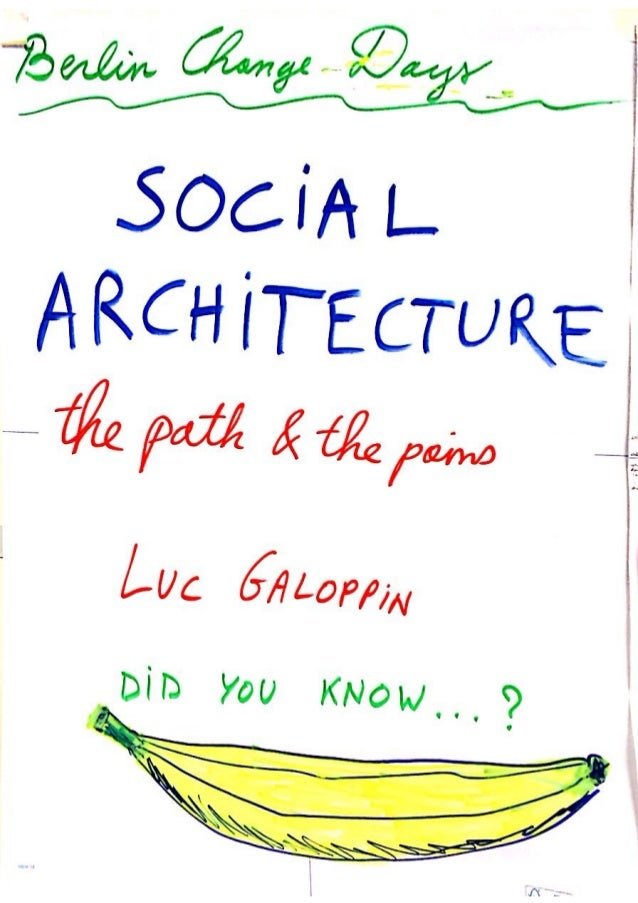 Social Architecture FLIPCHARTS