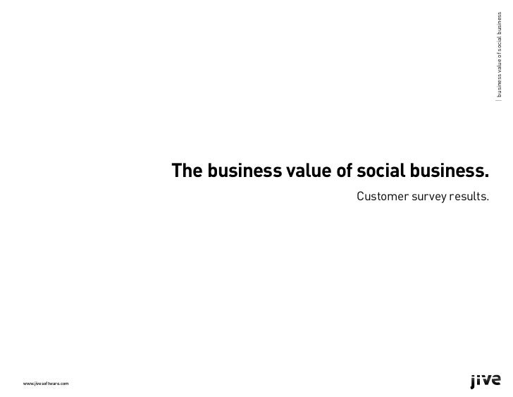 | business value of social business                       The business value of social business.                          ...