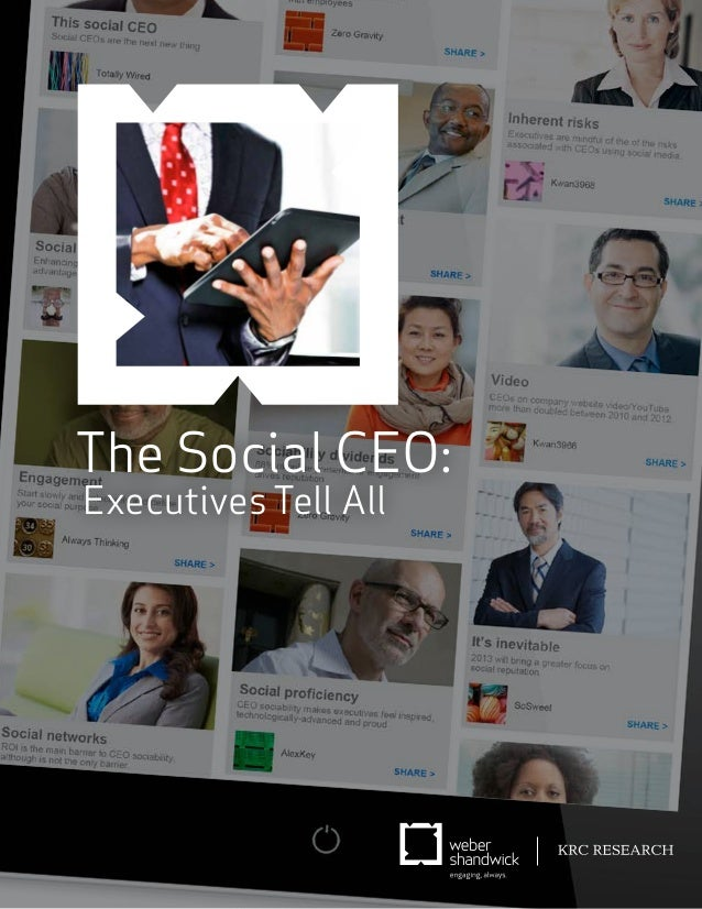 The Social CEO:Executives Tell All