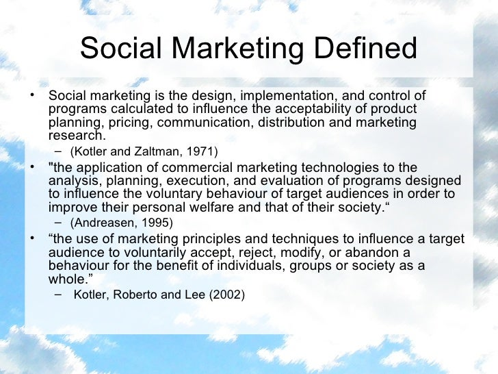 The Value of Marketing to Society