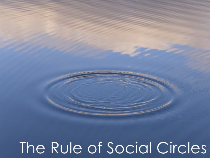 The Rule of Social Circles