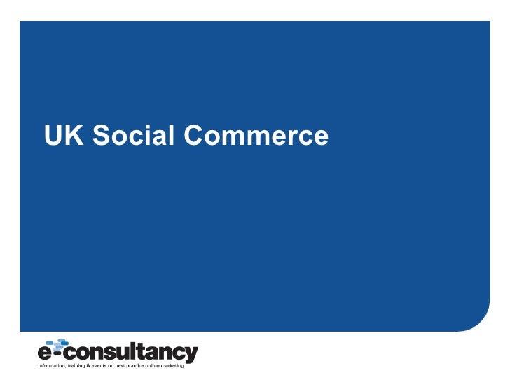 UK Social Commerce
