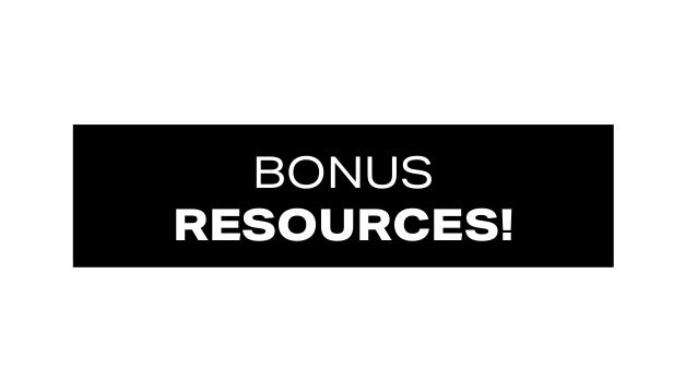 #SMWONE @joelleirvine BONUS RESOURCES!