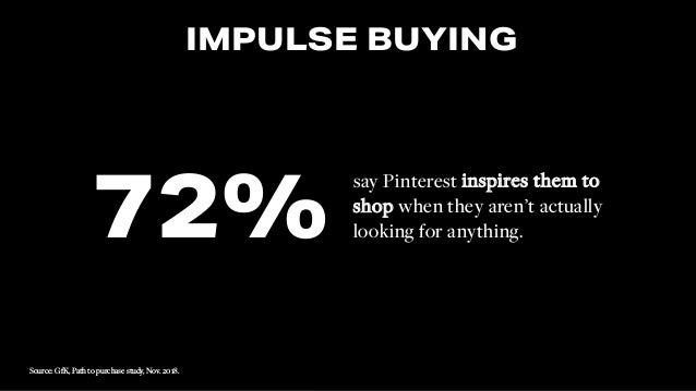 #SMWONE @joelleirvine TITLE TITLE, TITLE. Image Source: xxxx #SMWONE @joelleirvine IMPULSE BUYING say Pinterest inspires t...
