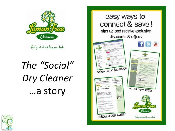 """The """"Social"""" Dry Cleaner…a story<br />"""