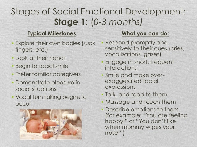 emotional development of a child 0 1 years Articles child development social and emotional development for infants 0-12  months child care  from 0 to 3 months during the first few.