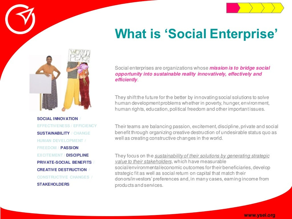 Start and grow a social enterprise