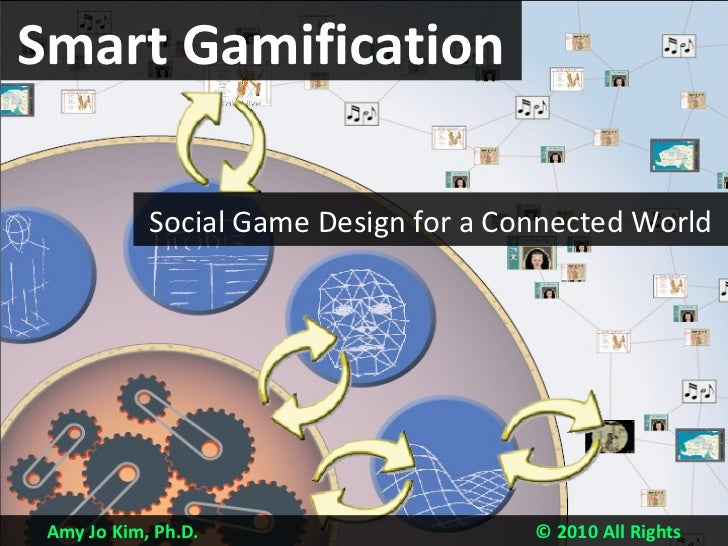 Amy Jo Kim, Ph.D.  © 2010 All Rights Reserved Smart Gamification Social Game Design for a Connected World