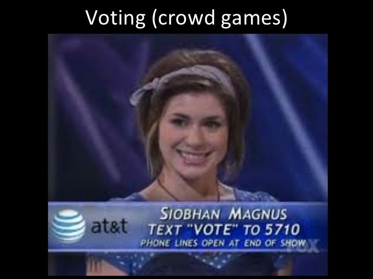 Voting (crowd games)