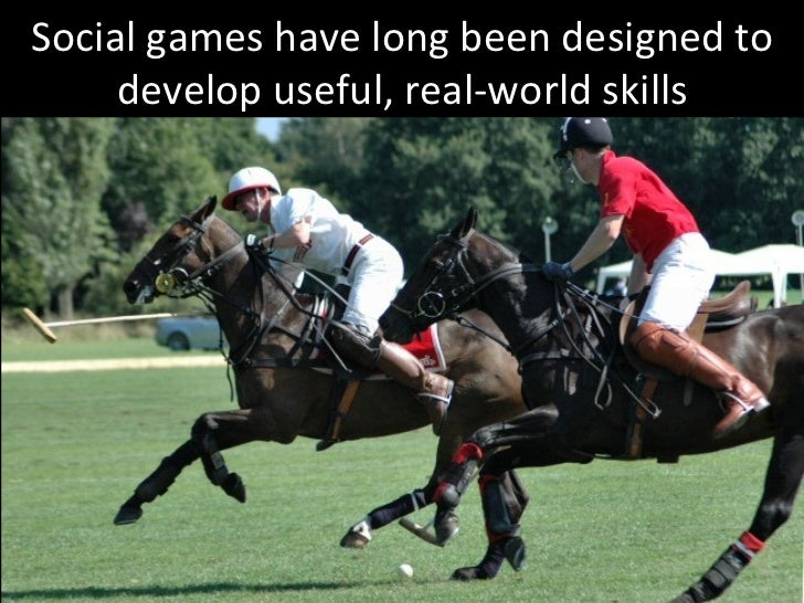 Social games have long been designed to develop useful, real-world skills