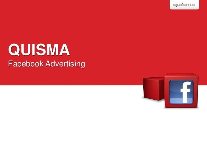QUISMAFacebook Advertising