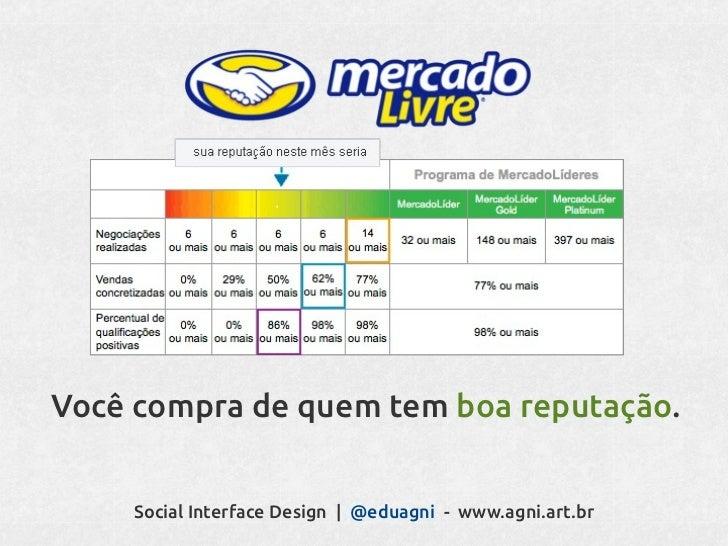 Você possui diferentes círculos sociais.   Social Interface Design   @eduagni - www.agni.art.br