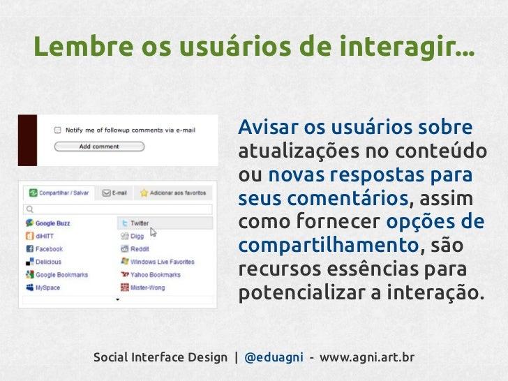 Social interface Design: projetando interações entre pessoas
