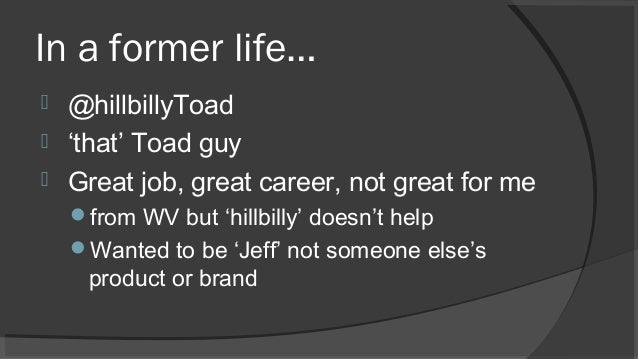 Empowering Your Technical Career with Social Media, PT1 Slide 3