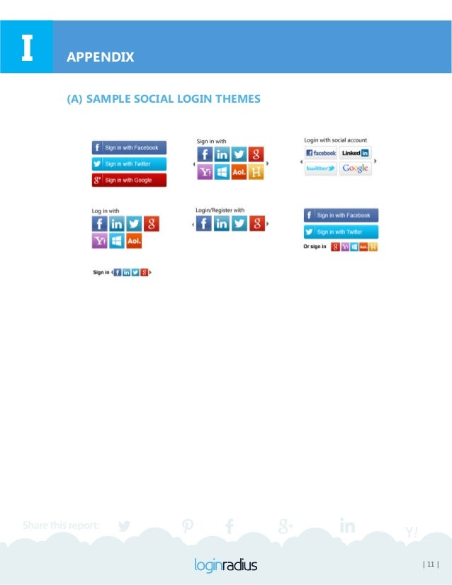 | 12 || 12 | APPENDIX LIST OF THE BEST MESSAGES TO PUT ABOVE THE SOCIAL LOGIN INTERFACE Recommended message to be put abov...