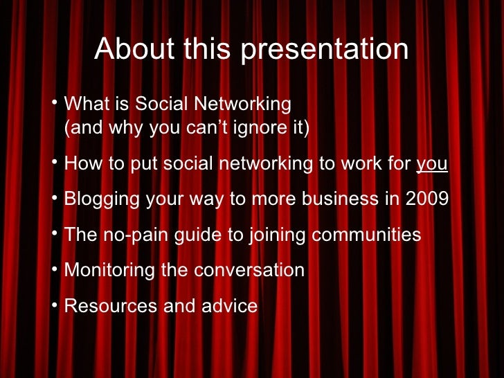 Using Social Marketing to Grow Your Business in 2009 Slide 2