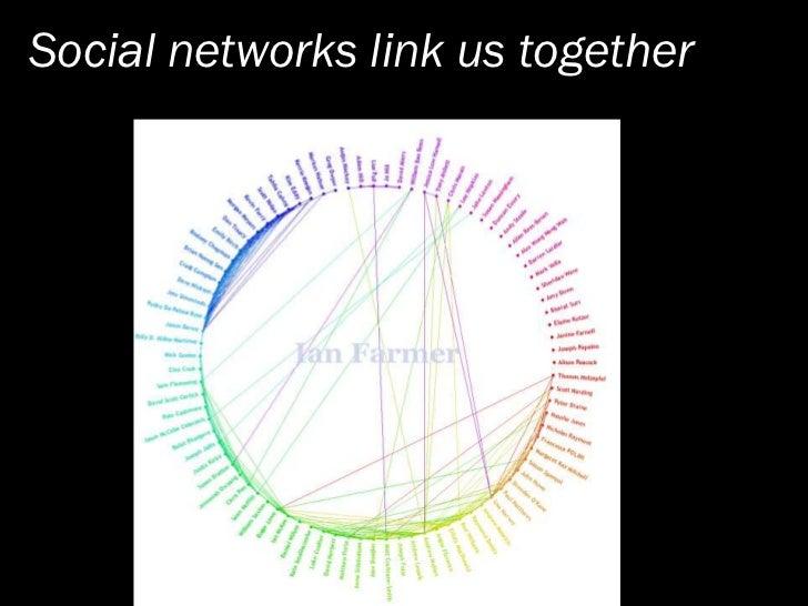 Social networks link us together