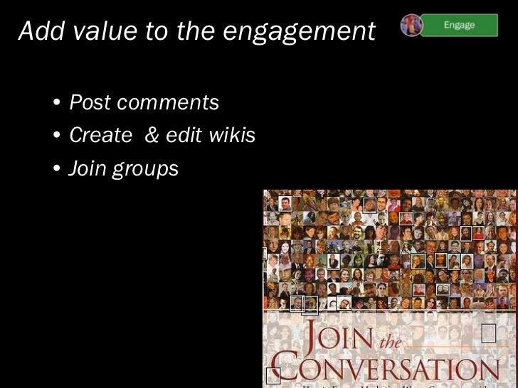 Inviting engagement & integration