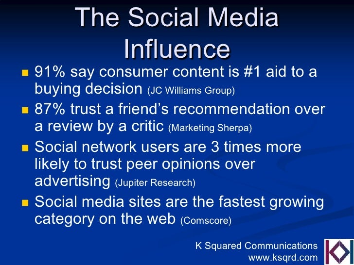 does social media affect consumer decision How social media can influence high-stakes business decisions of social media can influence high-stakes to be a selling point with consumers.