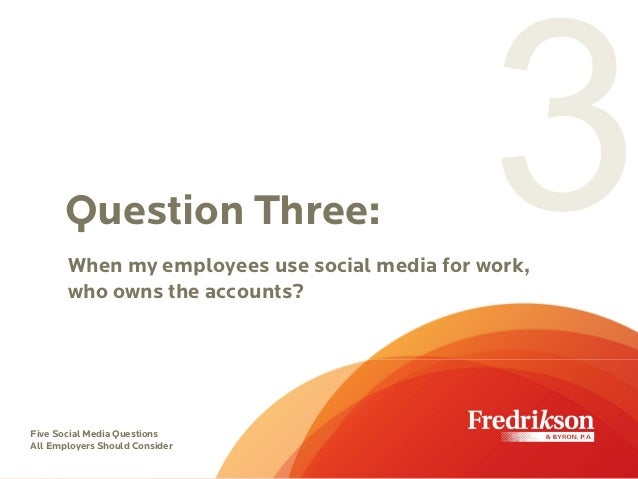 should employers use social media when Employers commonly utilize social media to gather information about prospective employees as part of the hiring process although social.