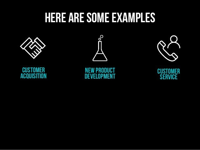 customer acquisition new product development Customer service here are some examples