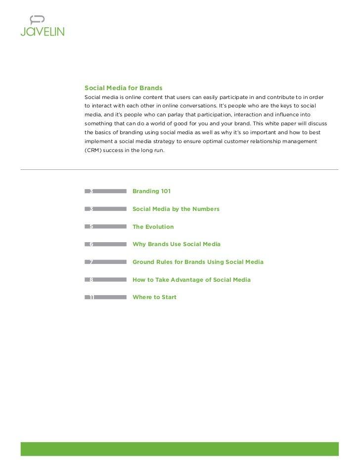 social media brand guidelines pdf